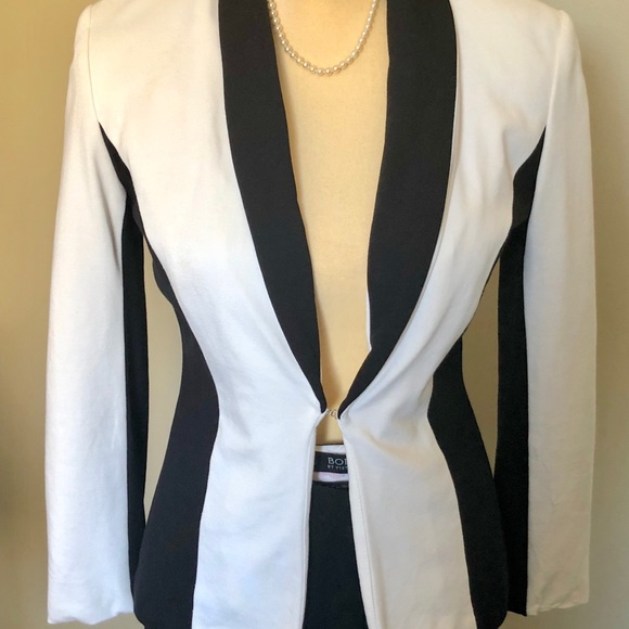 f5b91720009b0 Donna Morgan Jackets & Coats | 2 For 40 Blackwhite Blazer Sz Xs ...